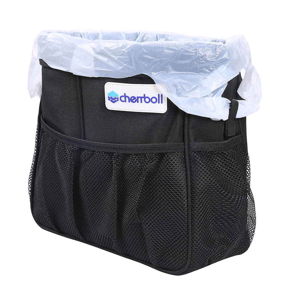 Cherrboll Car Trash Can Seat Bag Filler Crevice Storage Box Auto Cattle Organizer Back Seat Store Content Bag in Stowing Tidying from Automobiles Motorcycles