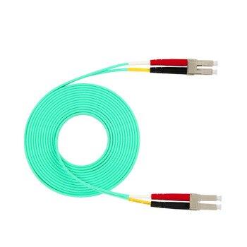 LC to LC 10GB Laser Optimized Multimode Fiber Patch Cable  OM3 LC/UPC to LC/UPC optical fiber patch cord  3M 5M 10M 15M брюки lc waikiki lc waikiki mp002xm23p95