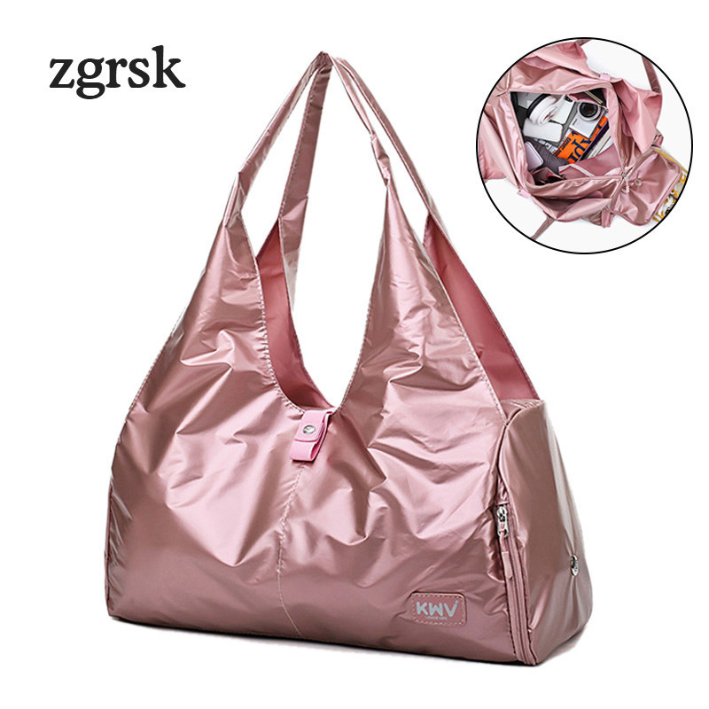 Weekend Travel Yoga Bags Large Hand Luggage Duffle Bag For Shoes Fitness Bags Top Travelling Handbags Shoulder Bag Women