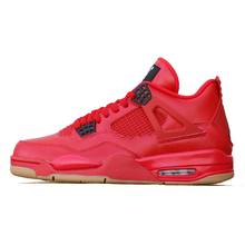 c2ee4f2fbea0 High Quality Jordan Retro Basketball shoes 4 Singles Day Red Sneaker Men  Athletic Outdoor Sport Shoes