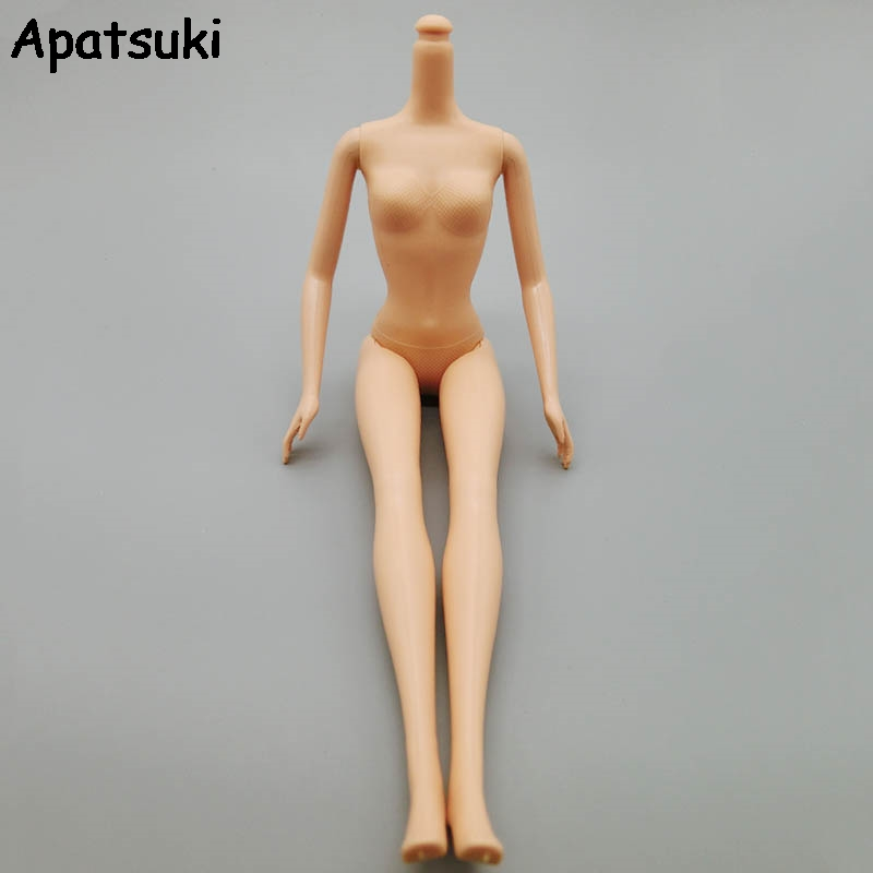 High Quality 5 Jointed DIY Movable Nude Naked 1:6 Doll Body For Barbie Doll House DIY Body Without Head Children Gifts Toy 13 styles xinyi nude naked doll great quality 14 joint movable long stright hair white skin for 1 6 barbie doll toys for girls