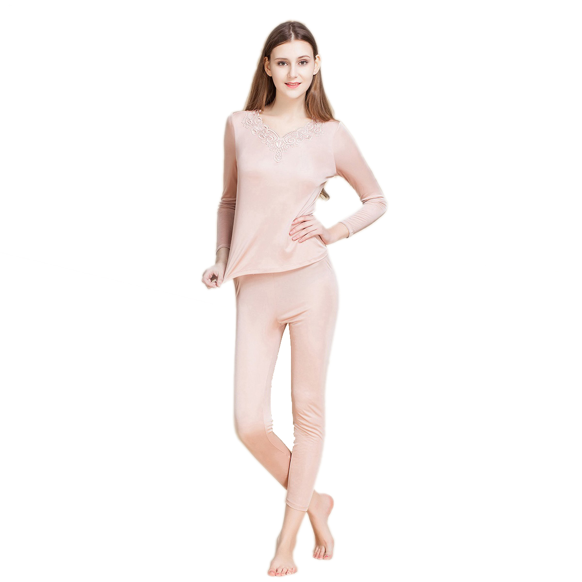 Popular Ladies Silk Long Underwear-Buy Cheap Ladies Silk Long ...