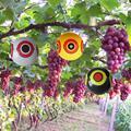 Репеллент для отпугивания птиц воздушные шары для глаз останавливает проблемы с вредителями быстро надежная визуальная Защита черный/желт...