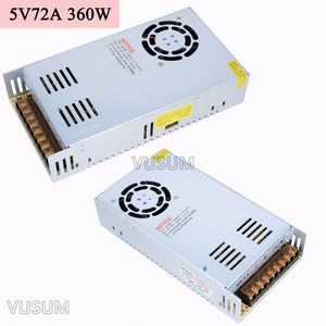 Image 3 - Fonte de alimentação led vusum, transformador de fonte de alimentação 5v 110v ac para dc 5v 2a driver 6a 10a 20a 30a 40a 50a 60a 72a