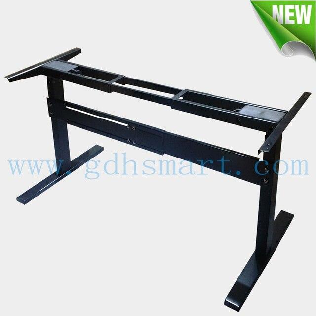 Alibaba Adjustable Height Standing Desk Frame U0026 School Furniture With  Electric Lifting Columns U0026 Height Adjustable