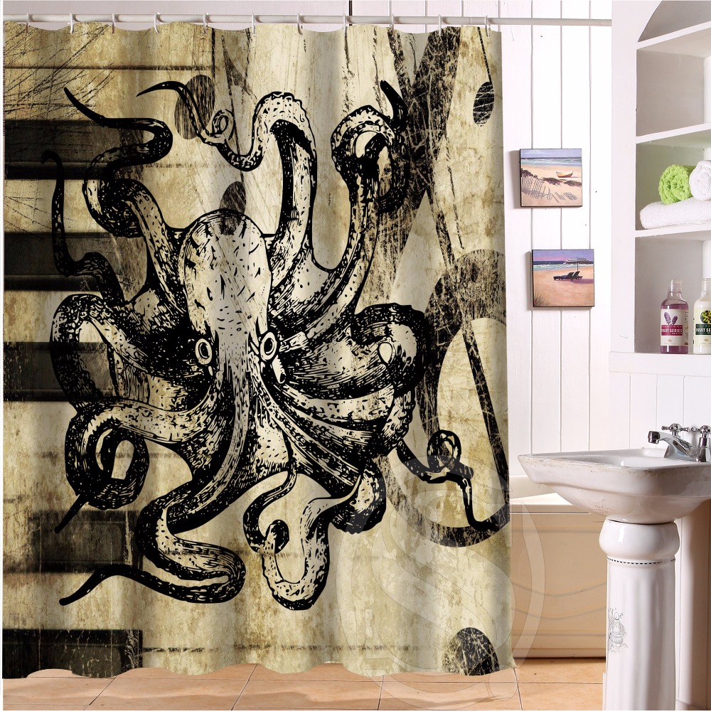 Medium Of Custom Shower Curtain