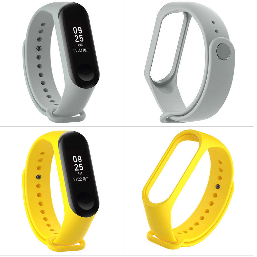 Sport mi Band 3 4 Strap Handgelenk Gurt für Xiao mi mi Band 3 Sport Silikon Armband für Xiao mi mi Band 3 Band3 Smart Uhr Armband