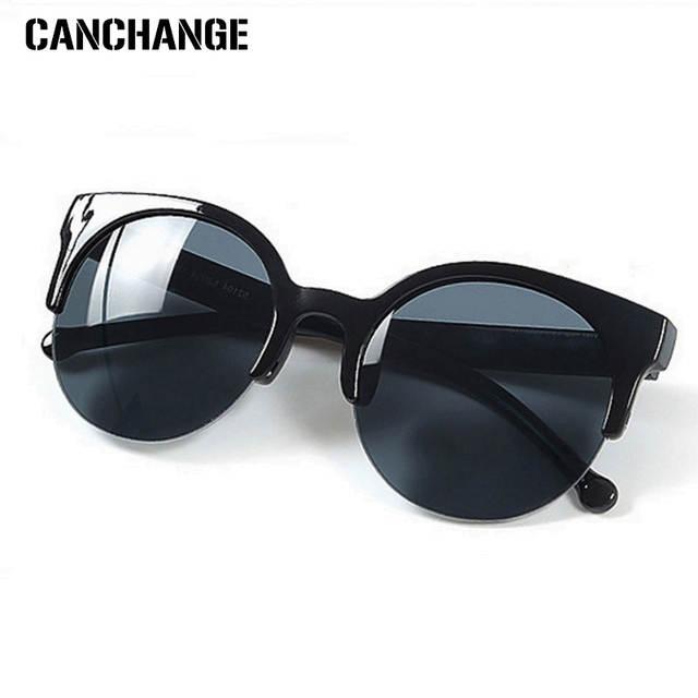 99efd5c9f8 CANCHANGE Fashion Retro Sunglasses Women Semi-circular Frame Sun Glasses  Unisex Vintage Men Sunglasses Cat. placeholder ...