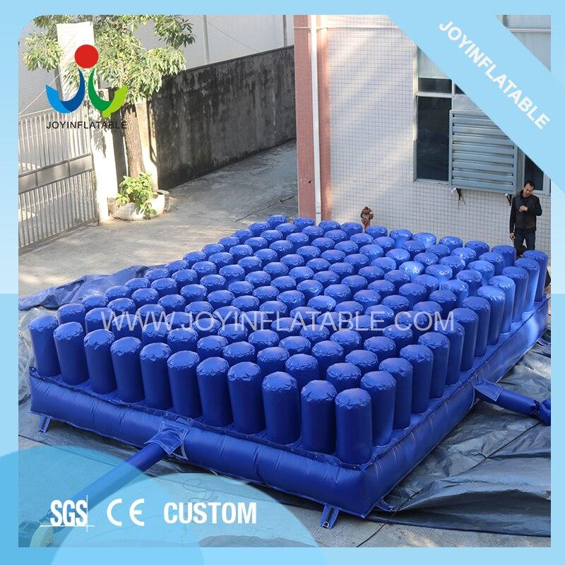 Offre spéciale PVC gonflable mousse fosse Airbag parc Trampoline Airbag Fitness Trampoline lit Sport Trampoline Amusement aventure saut