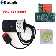 hot deal buy 2018 obd obd2 scanner with best relays 2015r3 keygen for new vci tcs cdp pro for delphis ds150e bluetooth diagnostic tools