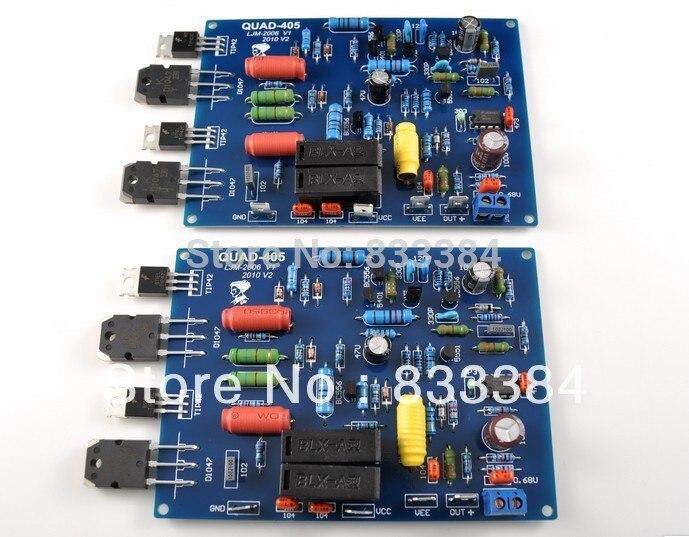 Assemblato QUAD405 Audio Power Amplifier Board (comprende 2 canali)Assemblato QUAD405 Audio Power Amplifier Board (comprende 2 canali)