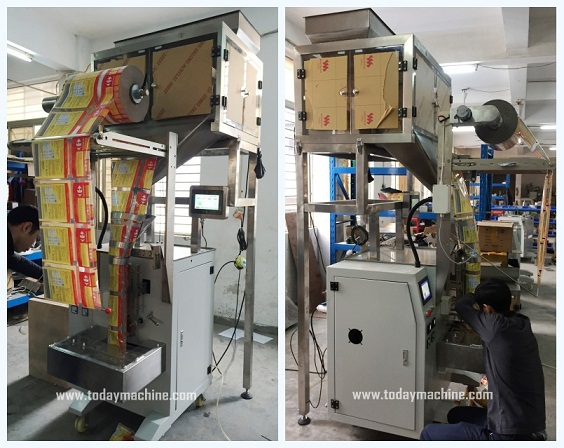 Weigher Granule Candy Snack Packing Machine