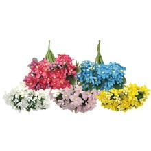 20pcs/lot 10cm*11cm 5Colors Artificial Berry Plum Flower Stamen Fake Flowers Garland For DIY Wedding  Decoration