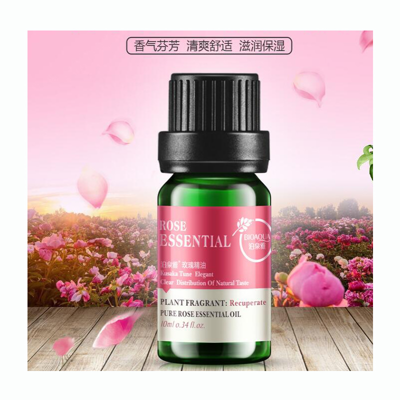 BIOAQUA Rose Tea Tree Lavender Pure Essential Oil Skin Care 3 Style 100% Pure Natural Plant Flowers Essential Oil