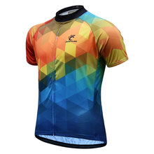 JESOCYCLING 2019 Cycling Jersey Men MTB Bike Tops Clothing Ropa Ciclismo Short Sleeve Maillot