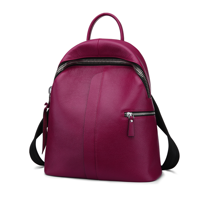 ZOOLER genuine leather backpack 2018 new listed style cowhide women backpack real leather Brand large capacity bag 8385