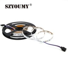 SZYOUMY 1200 Meters DC12V LED Strip Light 3014 SMD RGB 54LED/M Led Tape IP20/IP65 Led Stripe Bar String Holiday Decoration Light