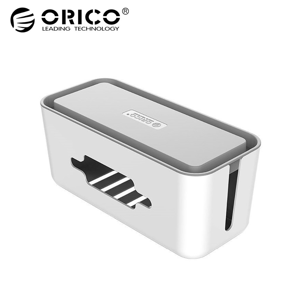 ORICO ABS Plastic Wire Storage Box Cable Manager Organizer Power Line Winder стоимость