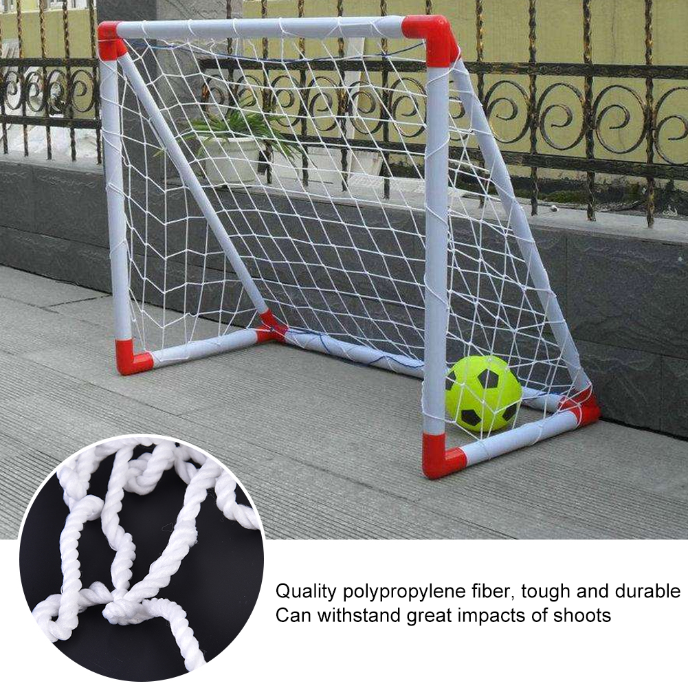 8 X 4ft Soccer Goal Post Net For Sports Training Match Replace Football Goal Netting Soccer Post Durable Net Equipment