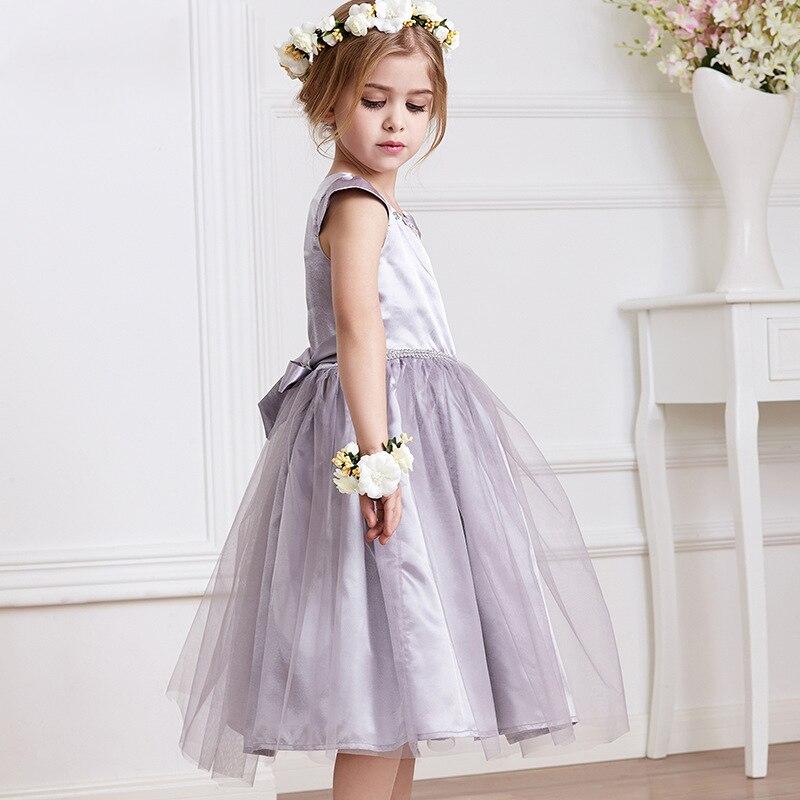 ФОТО Kids Princess Dress 2017 New Spring Summer Sleeve Costume Children Dresses Fashion Sweet Lace Skirt Girls