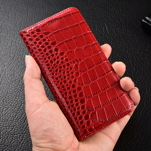 Image 2 - Crocodile Genuine Leather Case Huawei honor 5a 5c 5x 6 6a 6c 7 7a 7i 7x 8 8c 8x 9 9i 10 Plus Lite Pro view max Flip Stand cover