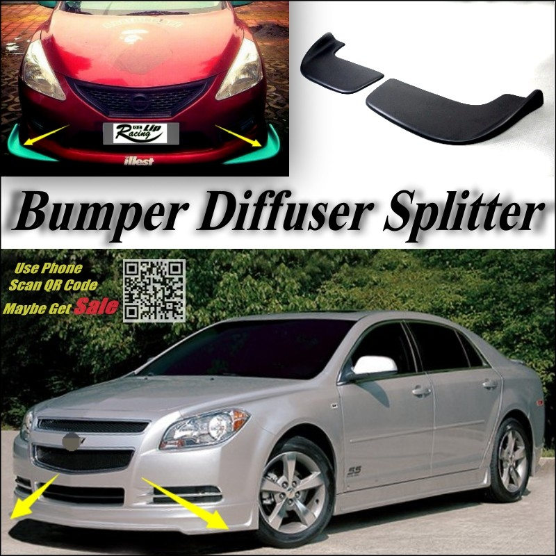 Chevrolet Malibu Splitter Deflector Diffuser Flap Chin Fin Canard