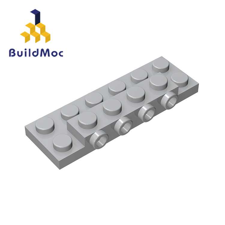 BuildMOC Compatible Assembles Particles 87609 2x6 For Building Blocks Parts DIY LOGO Educational Gift Toys