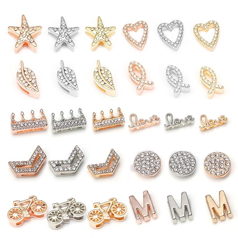 BAOPON 2019 Fashion Crown Crystal Charms Shining Bracelets Fits 10 mm DIY Pandora Mesh Bracelets Bangles Jewelry as Women Gifts