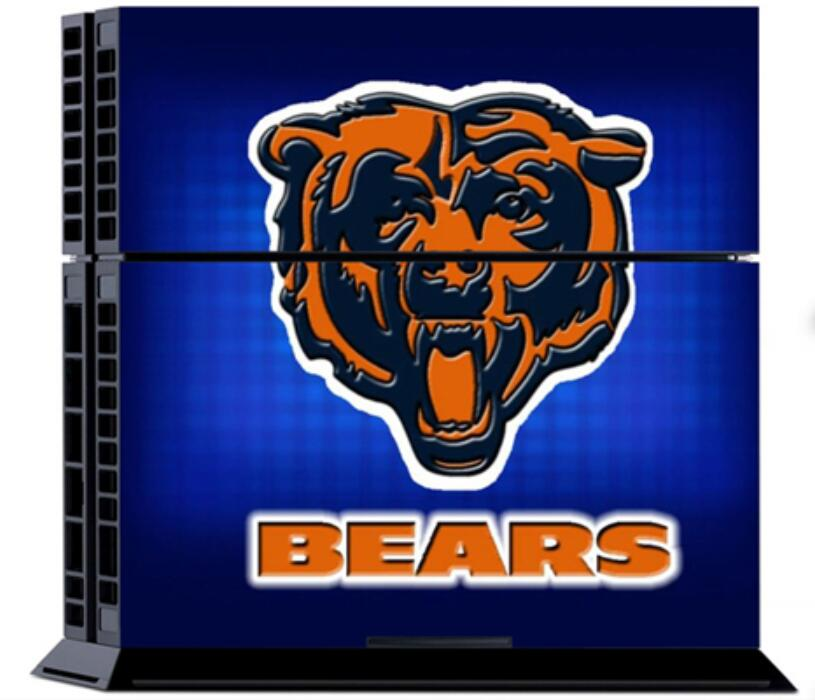 1set NFL Chicago Bears New Vinyl Sticker Anti Slip Host Protector For Sony  PS4 Console U00262x Controller Covers Decals On Aliexpress.com | Alibaba Group Part 45