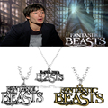 Newest Jewelry Fantastic Beasts and Where to Find Them Pendant Necklace Newt Scamander Necklaces Fans Swing Accessories