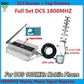 LCD Display !!! Newest Mini 4G LTE DCS 1800Mhz Mobile Phone Signal Booster , DCS Signal Repeater Amplifier + Yagi Antenna Cable
