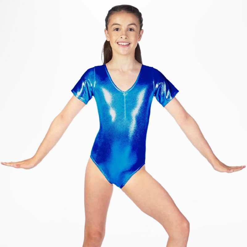 d0edaf17c451 Detail Feedback Questions about Girls Short Sleeve Leotards Shiny ...