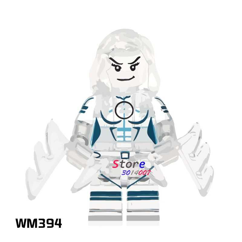 1PCS model building blocks action figures starwars superhero Invisible Woman Collection Series hobby diy toys for children gift