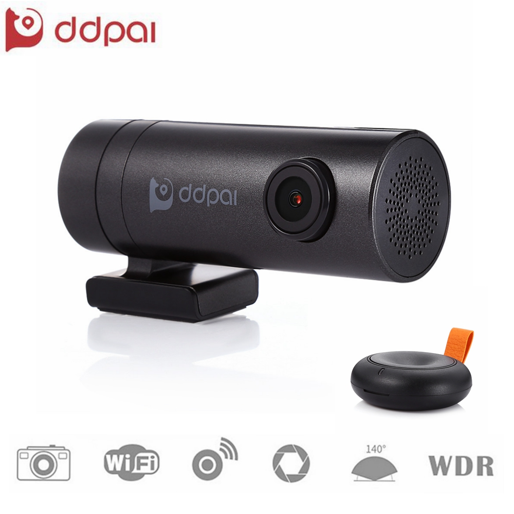 цена на Mini WiFi Dash Cam Full HD 1080P Camera 30fps 140 degree Wide Angle Lens WDR Car DVR Video Recorder with Microphone Dual USB