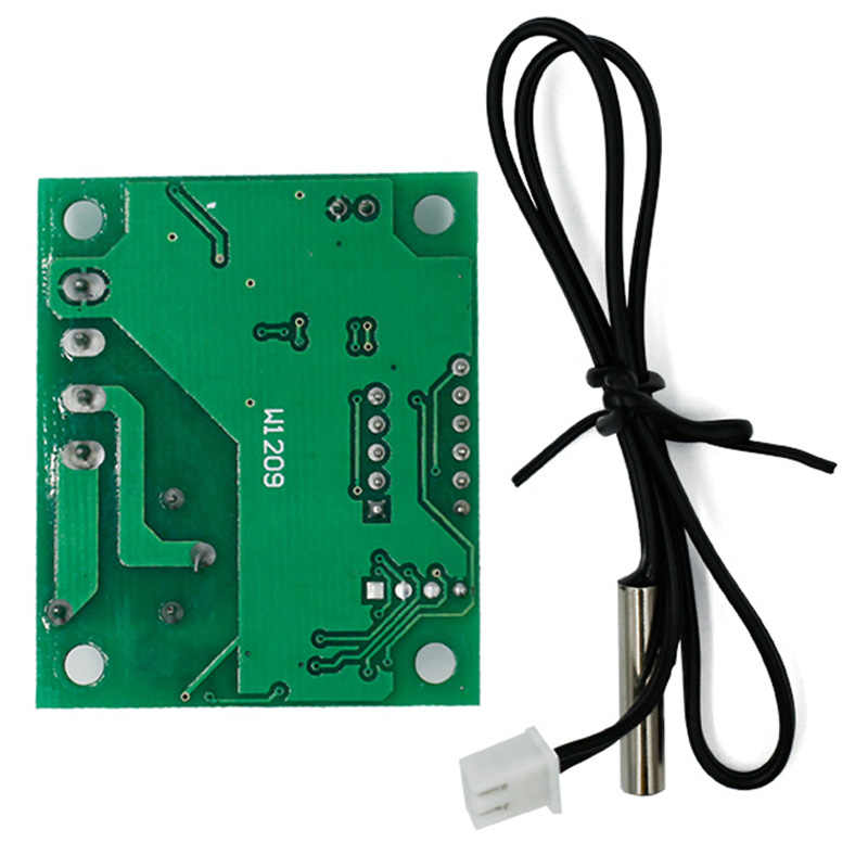 W1209 DC12V Digital Cool Heat temp Thermostat Thermometer Temperature  Control Switch Module On/Off -50-110C 30%off