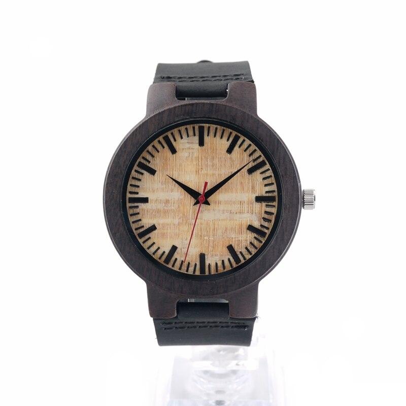 BOBO BIRD V-C23 남성 석영 손목 시계 수제 나무 시계 - 남성 시계 - 사진 2