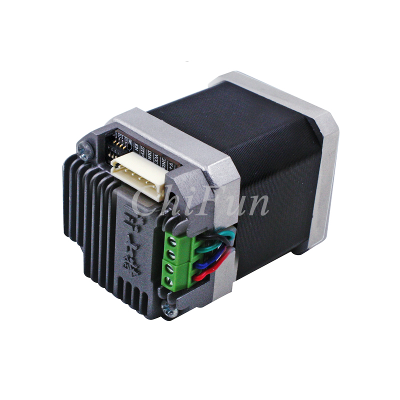 US $88 93 10% OFF|7TPSM4210 CAN bus multi axis 4 4kg cm 3000rpm 42 stepper  motor driver controller integrated machine USB communication computer-in
