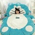 Дориа Трейдер 220см Х 160см Япония мультфильм Doraemon погремушка мягкий плюш Гигантские Двуспальная кровать ковров Татами Диван, Бесплатная доставка DY60503