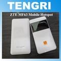 Оригинальный Разблокирована ZTE MF63 21 Мобильный Wi-Fi Hotspot Портативный 3 Г беспроводной маршрутизатор HSPA + 2100/1900/850 (900) Мгц