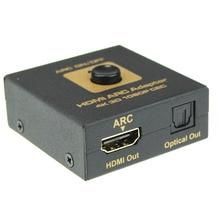 Горячая! высочайшее Качество HDMI ARC Адаптер для HDMI и Оптический Аудио Конвертер 4 К 3D 1080 P ЦИК с USB к DC 5.5 мм Кабель Питания FE9 Jan5