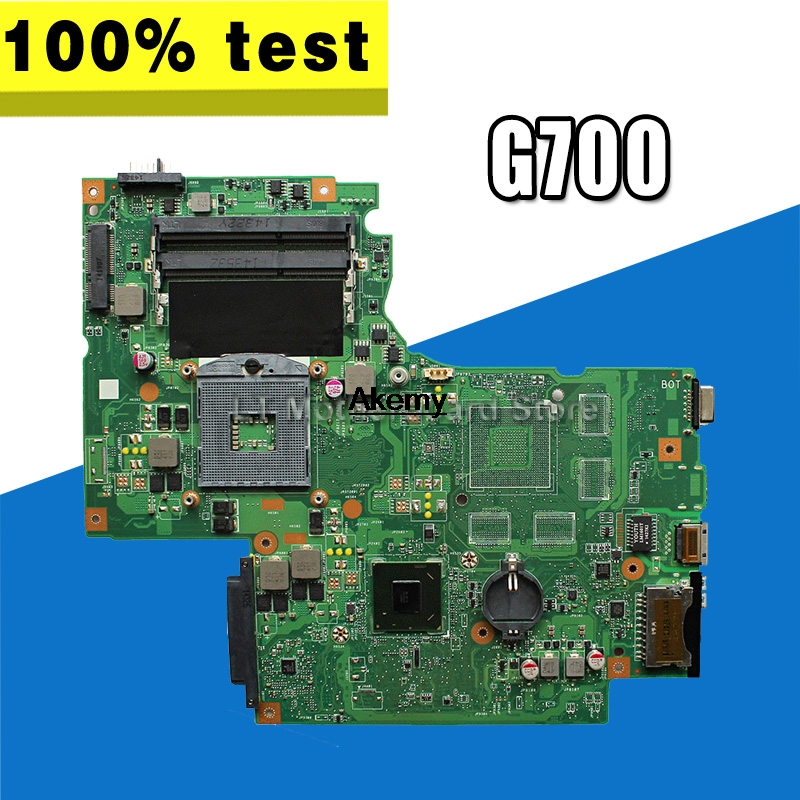 G700 for Lenovo G700 laptop motherboard BAMBI mainboard with GPU 11SN0B5M11 11S90003042 original mainboardG700 for Lenovo G700 laptop motherboard BAMBI mainboard with GPU 11SN0B5M11 11S90003042 original mainboard