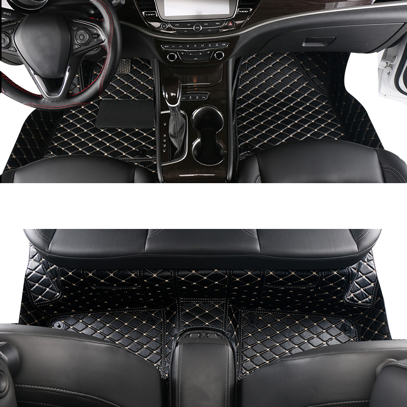lsrtw2017 leather car floor mat for opel insignia 2008 2009 2010 2011 2012 2013 2014 2015 2016 2017 2018 2019 2020 accessories