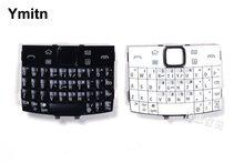 Black White 100 New Ymitn Housing Cover Keypads Keyboards English amp Russian amp Arabic For Nokia e6 e600 e6-00 cheap plastic