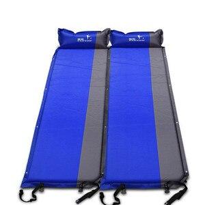 2 шт./1 партия! Flytop (170 + 25) * 65*5 см Автоматический надувной матрас для одного человека, открытый кемпинг, рыбалка, пляж, пикник, палатка, коврик