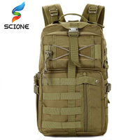 High Quality Outdoor Sports Military Backpack Waterproof Camping Tactical Dry Nylon Bag Molle System Assualt CS