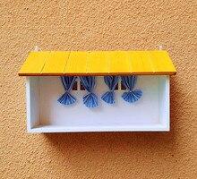 Творческий ящик для хранения декоративные настенные полки ящик для хранения окно стойки стиль дома органайзера