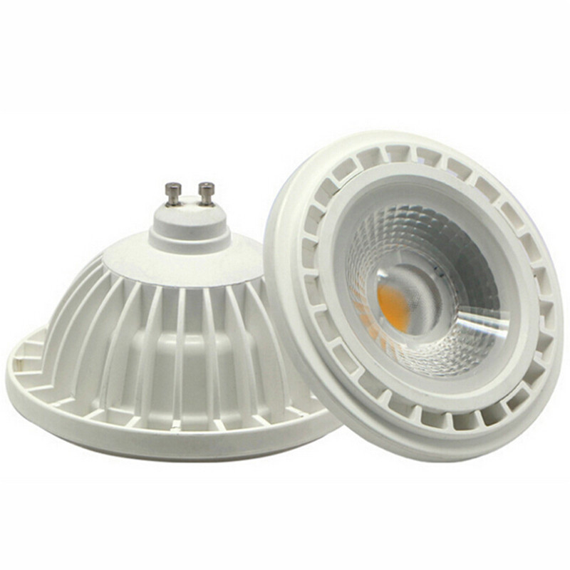 цены Free Shipping 15W LED Bulb COB LED Spot Light Ar111 GU10 led lamp Warm Natural Cold White AC85-265V