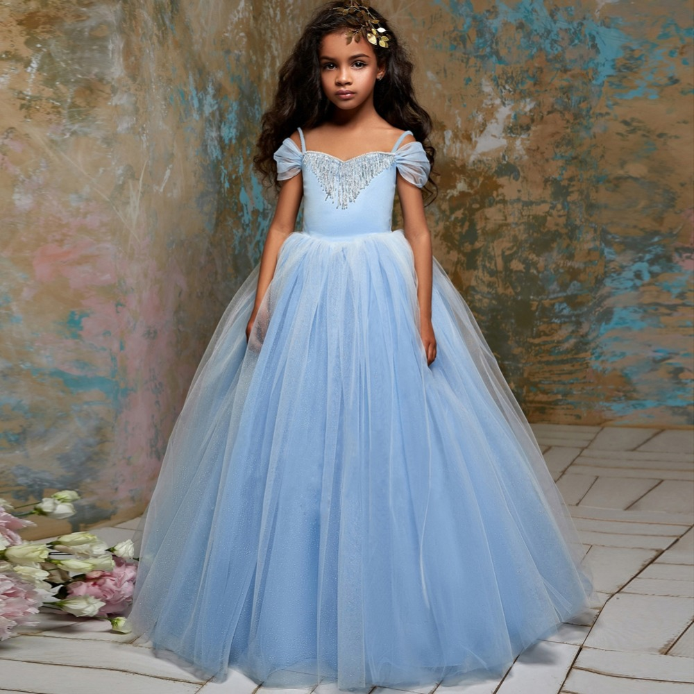 Flower Girls Dress Kids Pageant Party Wedding Ball Gown Prom Princess Formal Occasion Girls Dress First Communion Dresses GirlsFlower Girls Dress Kids Pageant Party Wedding Ball Gown Prom Princess Formal Occasion Girls Dress First Communion Dresses Girls