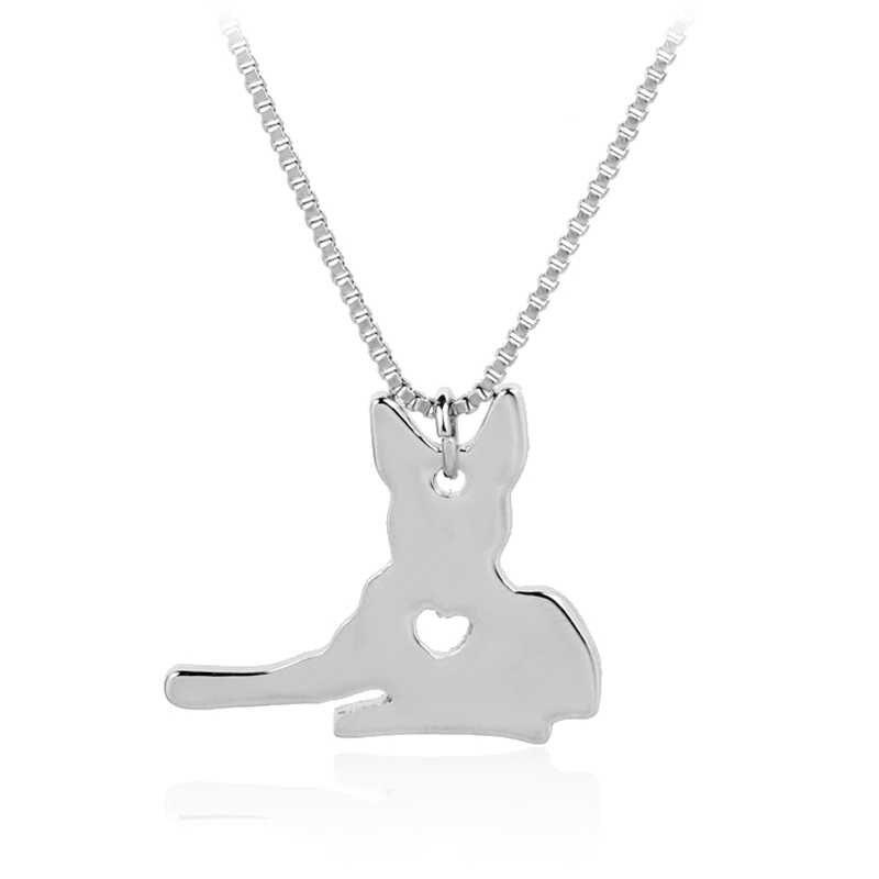 Pet Lover спасение собак Золотое Ожерелье Подвеска ретривер собака памятный подарок
