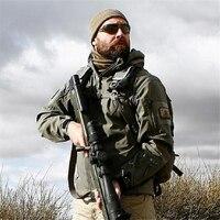 Lurker Shark Skin Soft Shell Tad 5 0 Military Tactical Jacket Men Waterproof Windproof Warm Coat